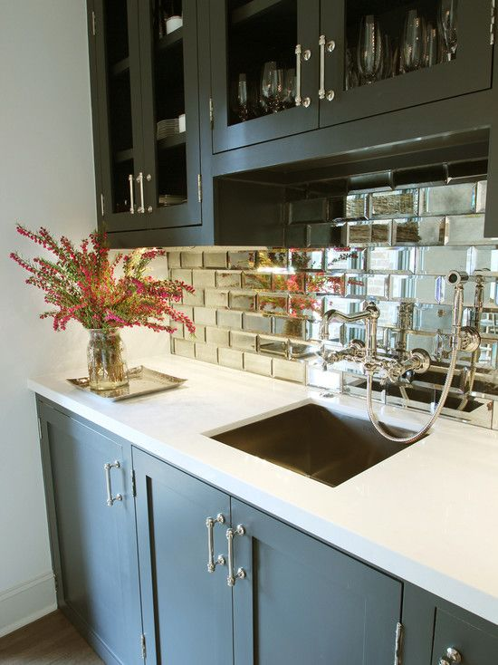 Search Interesting Small Beveled Mirror Tiles A Statement Making Medium