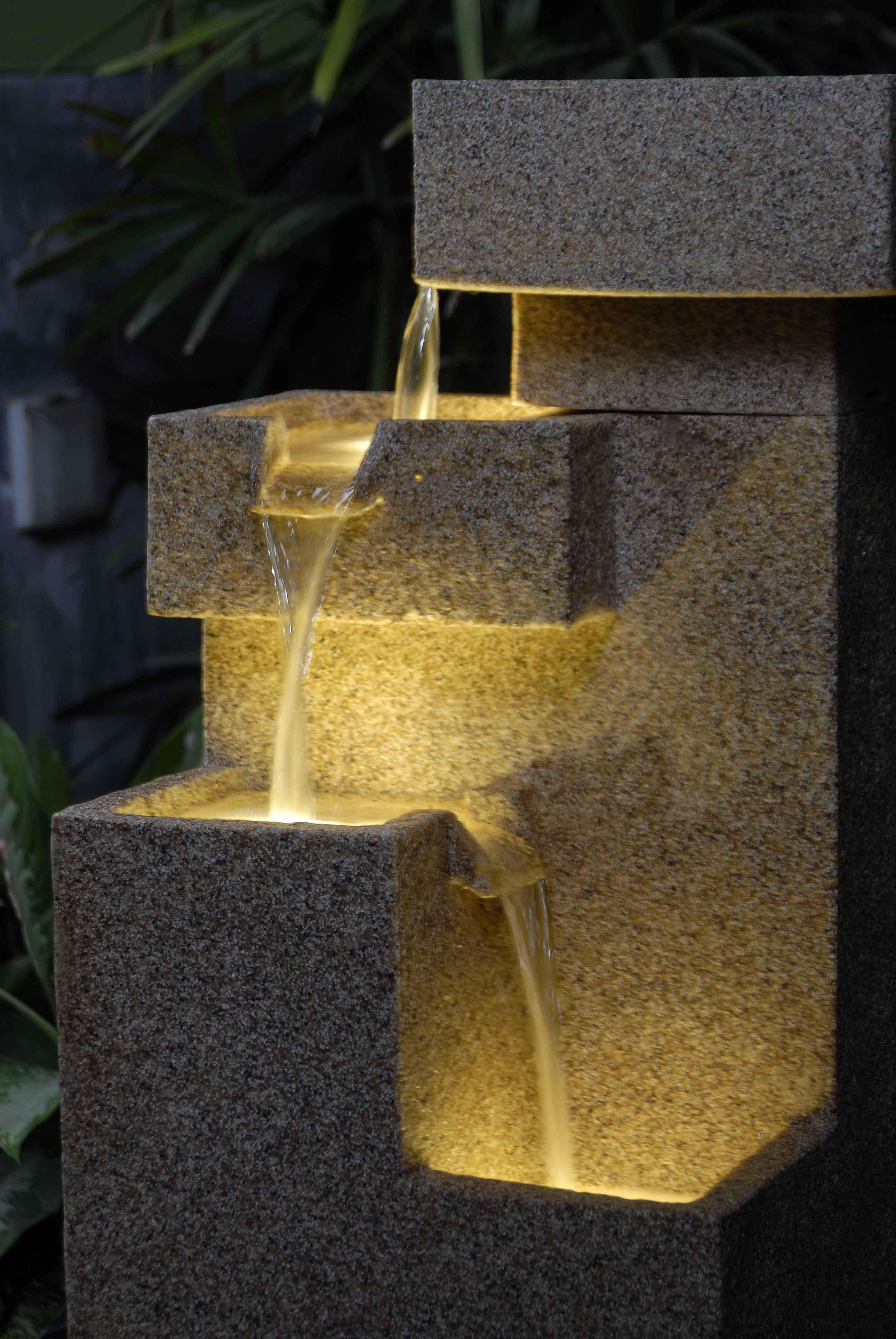 search lighted water fountains outdoorfountain design ideas