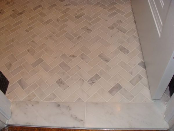Search Marble Tile Floor Herringbone Layoutmaster Bathroom Medium