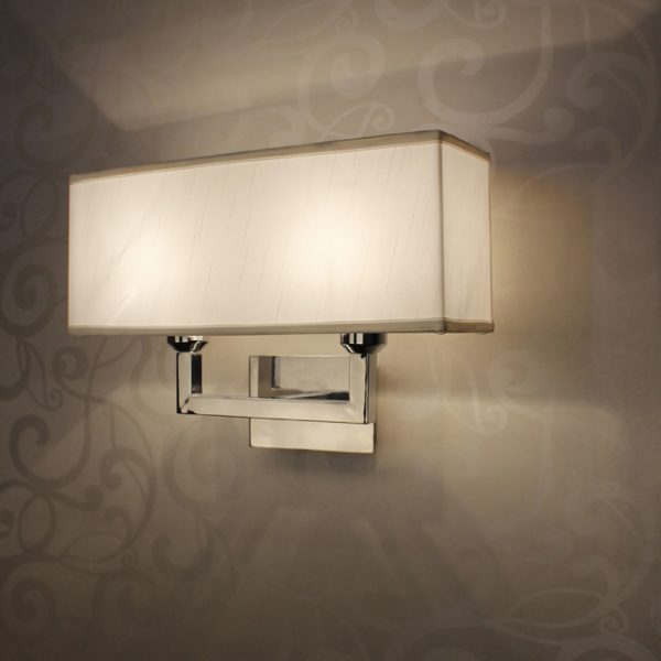 Search Modern Rectangle Wall Lamp E27 Restroom Bathroom Bedroom Medium