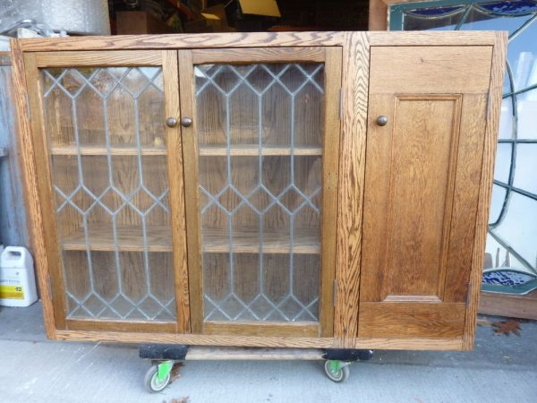 Search Pretty Custom Made Oak Kitchen Cabinet Salvaged Oak Medium