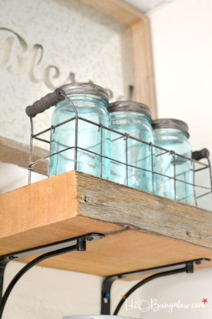 search tips for hanging thick wood shelves h20bungalow