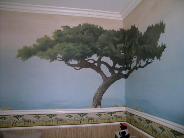 Search Tree Mural Painting By Michael Ryan Medium