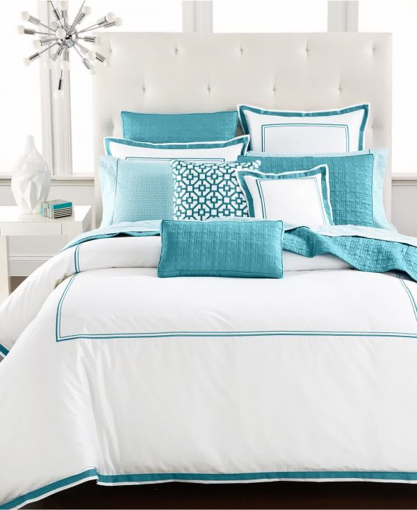 Search Turquoise And White Bedding Set Product Selectionshomesfeed Medium