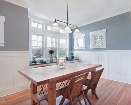 Search Wainscoting Dining Room Design Ideas   Remodel Pictures Medium