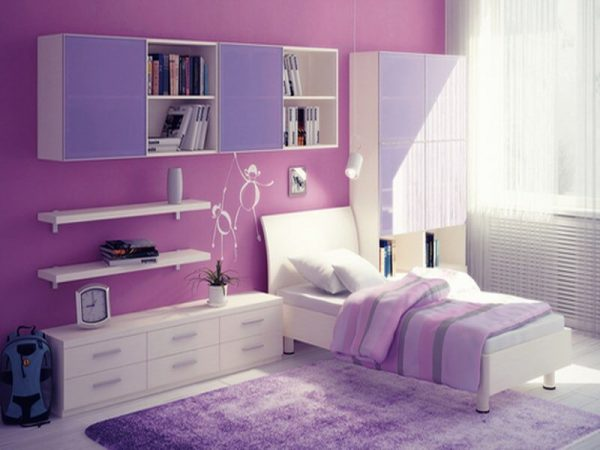 Simply 10 Lovely Violet Girls Bedroom Interior Design Ideas Medium