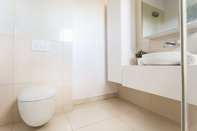 simply 10 tile ideas for small bathrooms and cloakrooms tiling