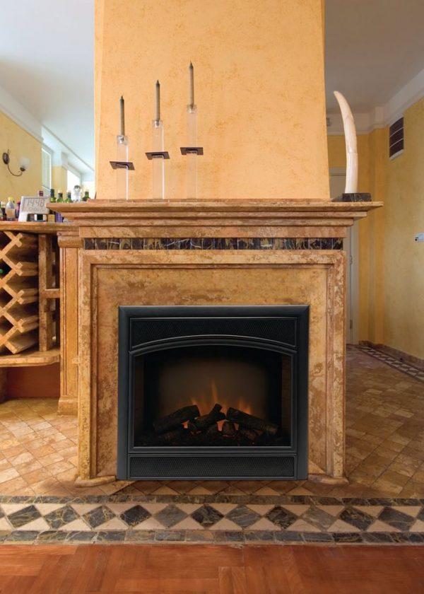 Simply 17 Best Ideas About Prefab Fireplace On Glass Medium