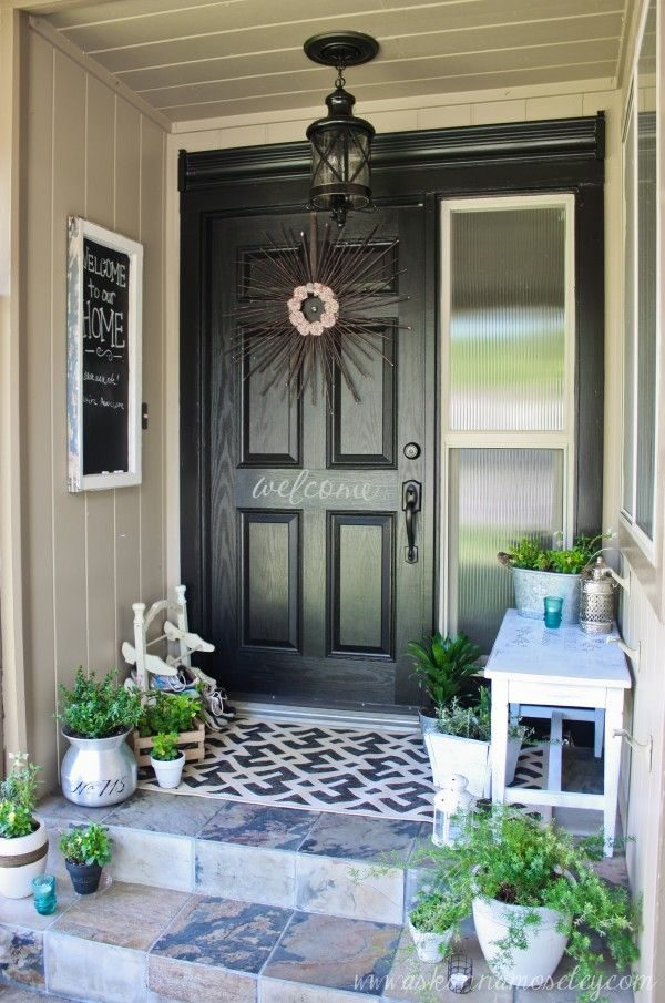 Simply 30 Cool Small Front Porch Design Ideasdigsdigs Medium