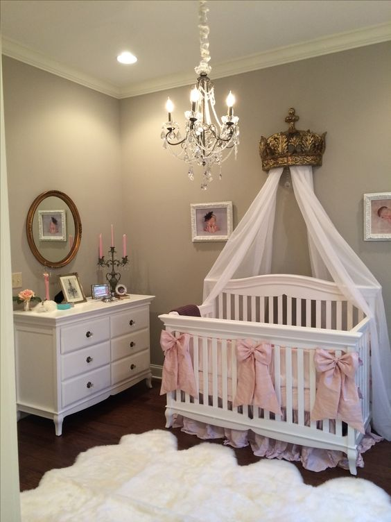 Simply 33 Most Adorable Nursery Ideas For Your Baby Girl Medium