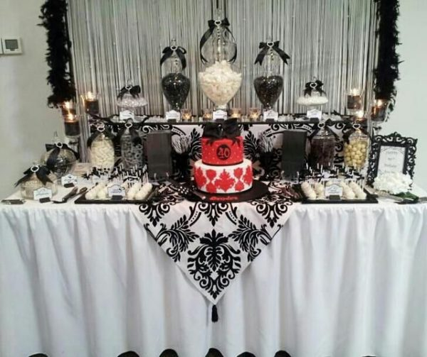 Simply 35 Birthday Table Decorations Ideas For Adultstable Medium