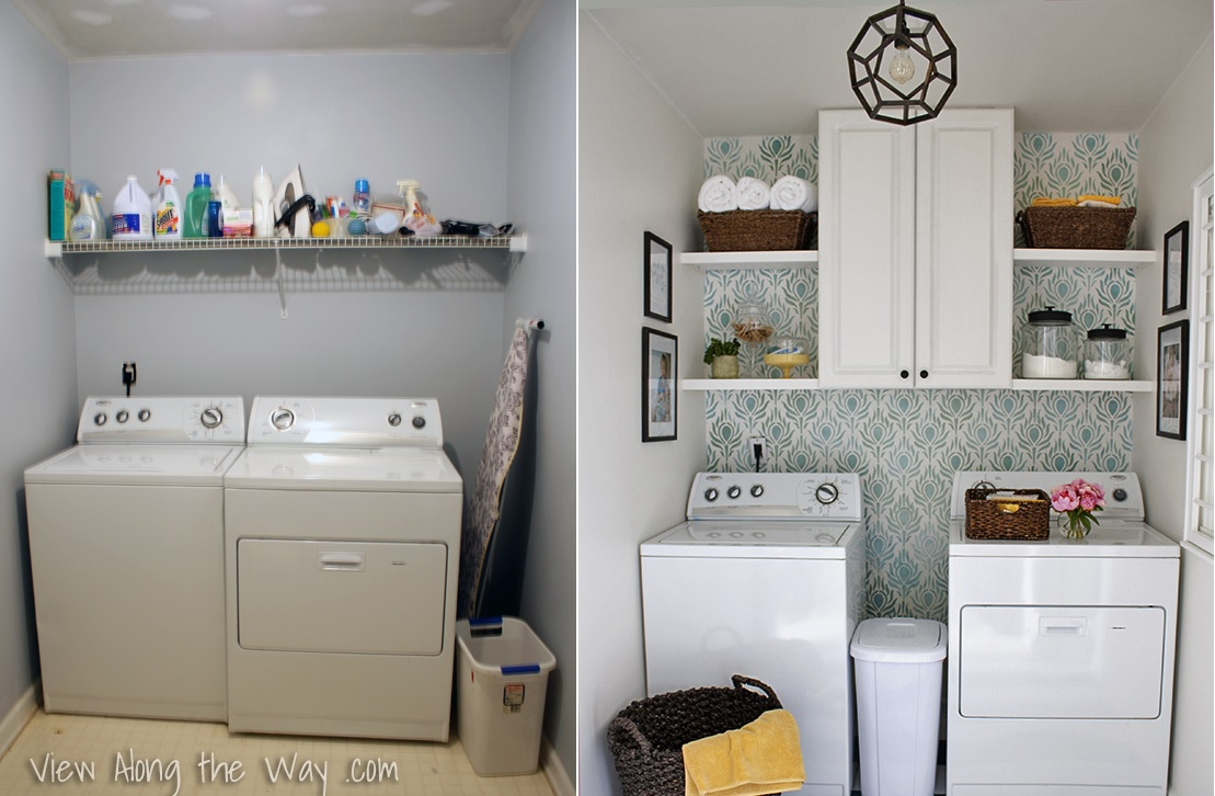 simply 6 laundry room reveals to inspire your next makeover