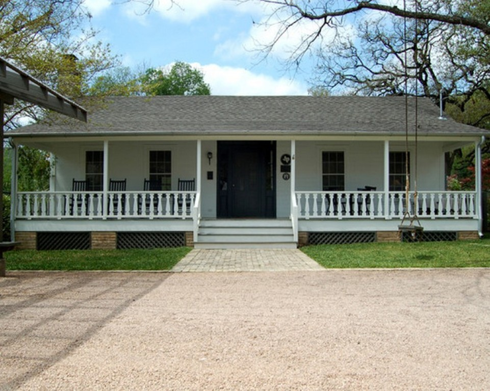 simply adding a porch to a ranch style house with porches house