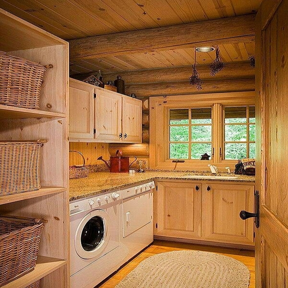 Simply Country Laundry Room Ideas Rustic Laundry Room Design Medium