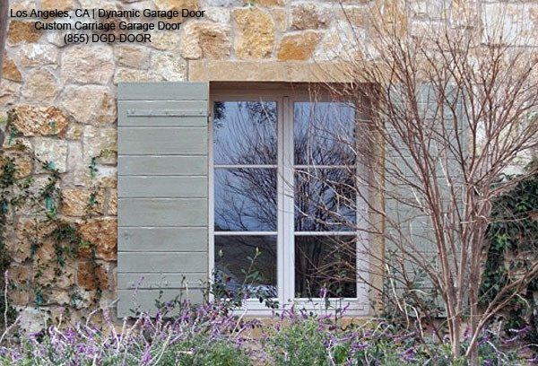 Simply Decorative Rustic Shutters In A Tuscan Style Design Medium