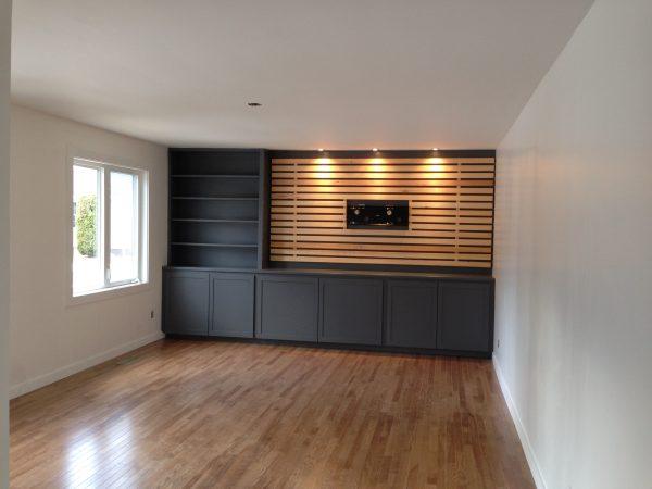 Simply Diy Wood Slats Tv Accent Wall By Reimaginereimagine Medium