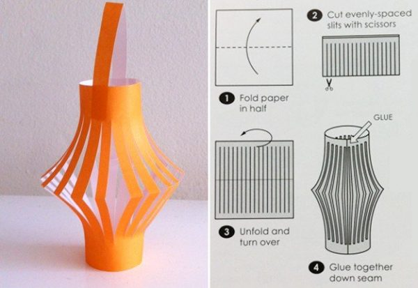Simply How To Make A Paper Lantern Arts Crafts And Diy Medium