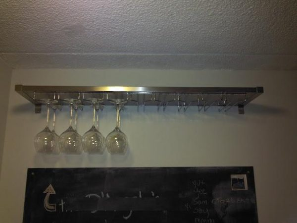 Simply Ikea Hacked Ekby Mossby Wine Glass Hanger All Medium
