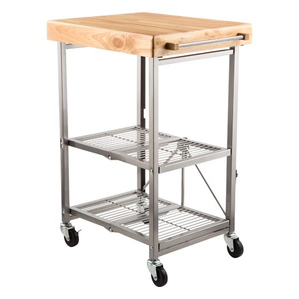 Simply Kitchen Cart Origami Kitchen Cartthe Container Store Medium