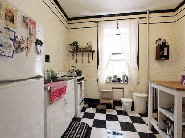 Simply Kitchenawesome Black And White Kitchen Floor Tiles Medium