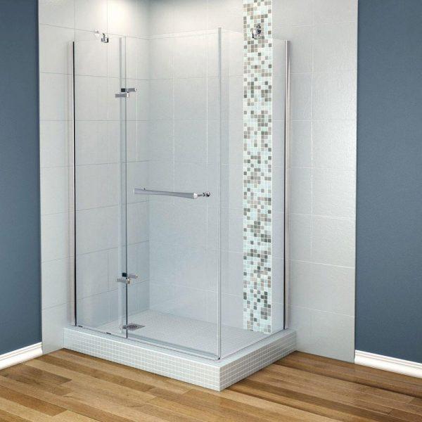 Simply Maax Reveal 317 8 In X 48 In X 715 Corner Shower Medium