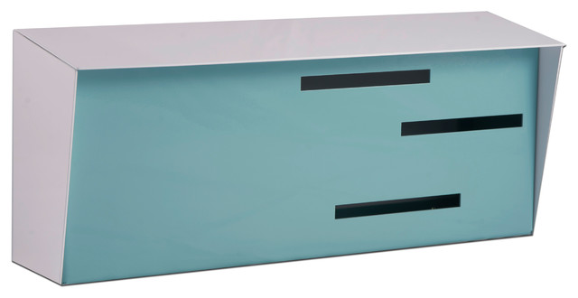 simply mid century modern mailbox midcentury mailboxes by