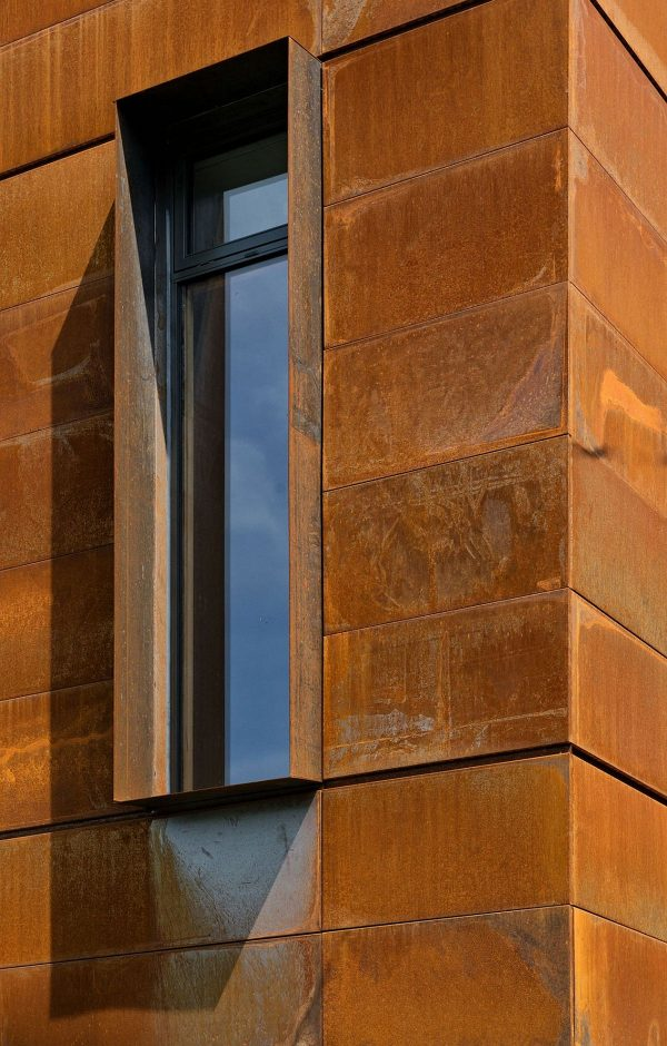 Simply Modern Heathdale Residence In Toronto With Corten Facade Medium