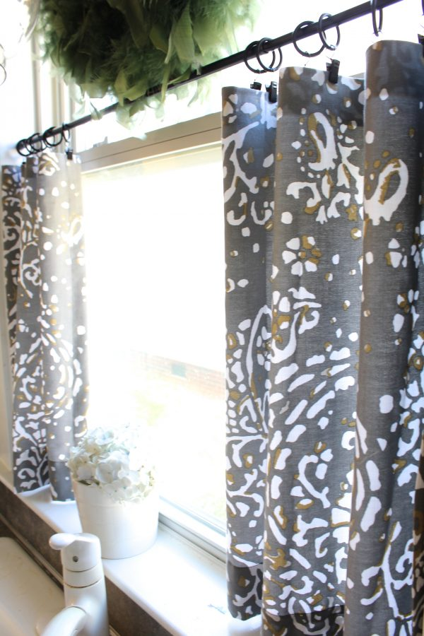 Simply No Sew Cafe Curtains Day 22 Simple Stylings Medium