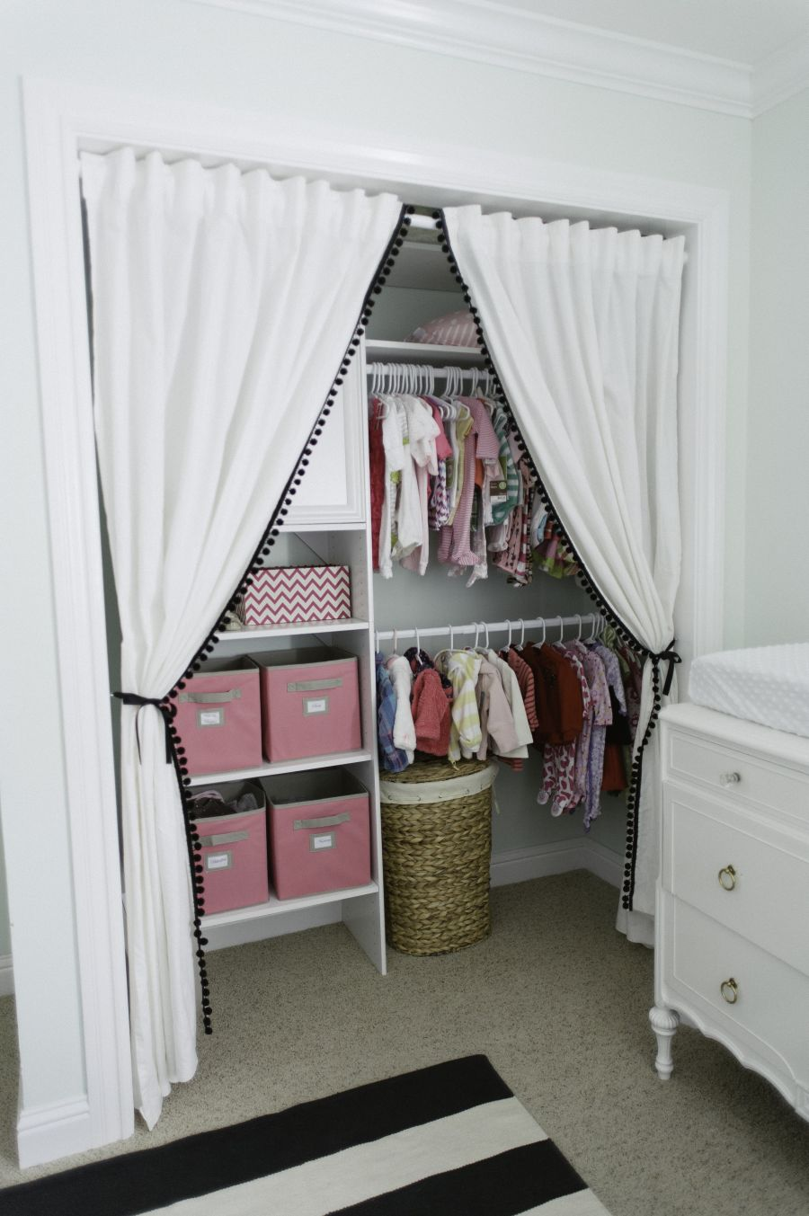 simply organizing the babys closet easy ideas   tips