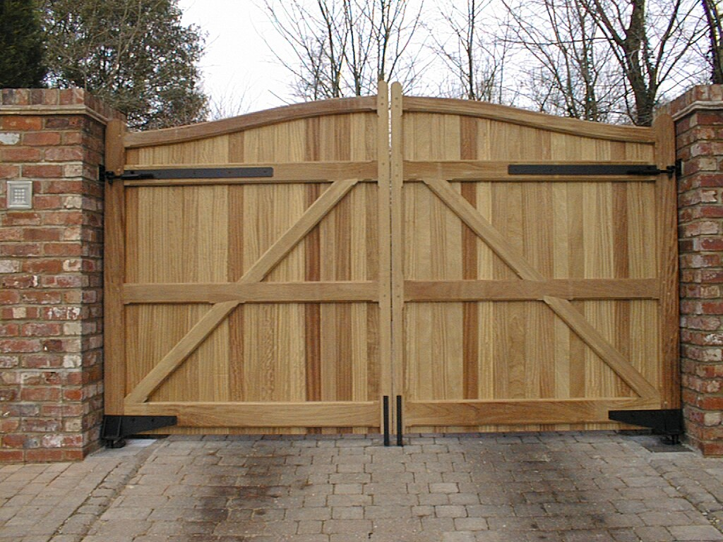 simply outdoor wood gates design exterior trendy ideas tierra
