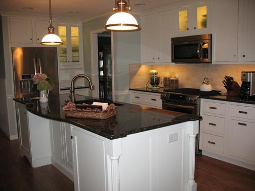 Simply Pics Of Uba Tuba Granite With White Cabinets Please Medium