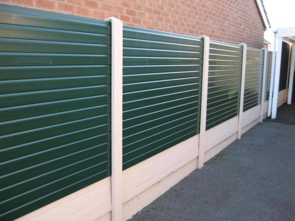 simply plastic fence panels for your garden decoration best