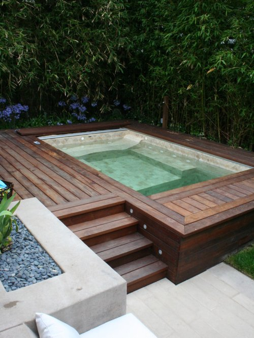 Simply Pool Design Ideas Remodels   Photos Medium