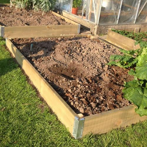 Simply Raised Garden Beds 8ft X 4ft Tanalised Timber Medium