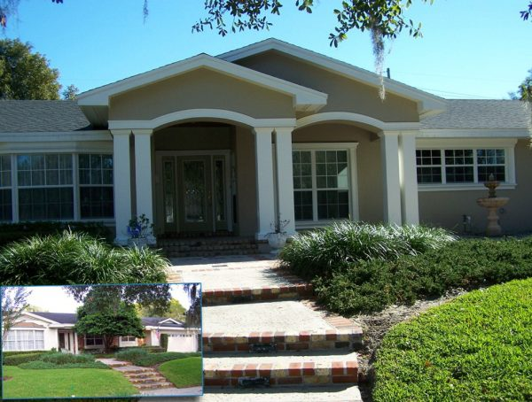 Simply Simple Adding A Porch To A Ranch Style House  House Style Medium