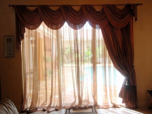 Simply   Traditional Window Treatments Swags Jabots Tassels Medium