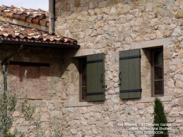 Simply Tuscan Style Window Shutterslos Angeles Ca From Medium