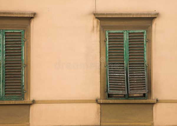 Simply Tuscan Windows Stock Photo Image Of Architectural Italy Medium