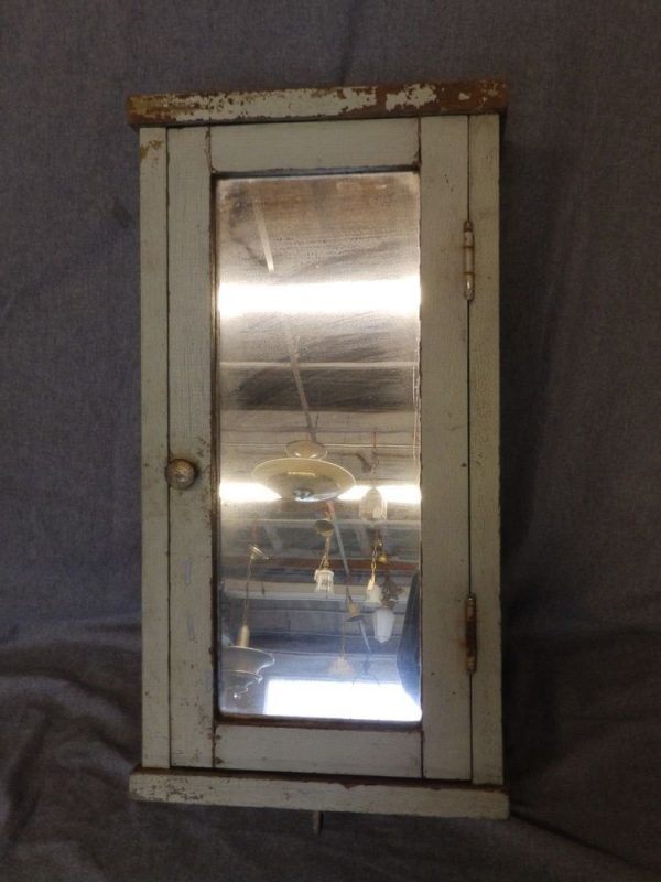 Simply Vintage Narrow Surface Wall Mount Medicine Cabinet Shabby Medium