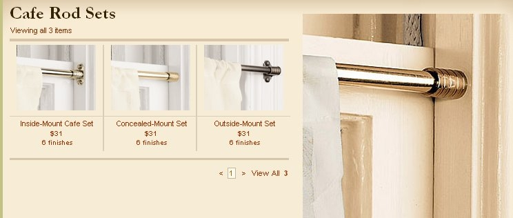 simply what is a cafe curtain rod eyelet ideas inside mount rods