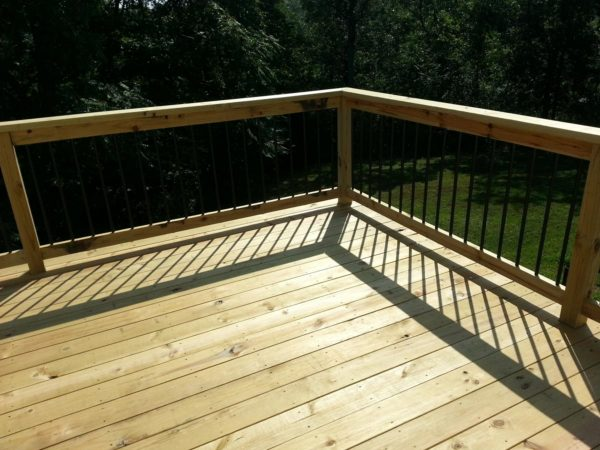 Simply Wood Deck St Louis  Wood Decking  Pressure Treated Medium