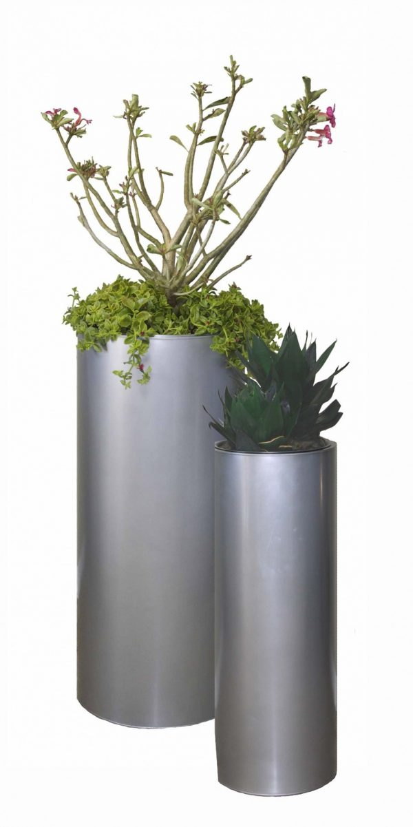 Steal Simple And Neat Black Floor Standing Flower Pot Medium