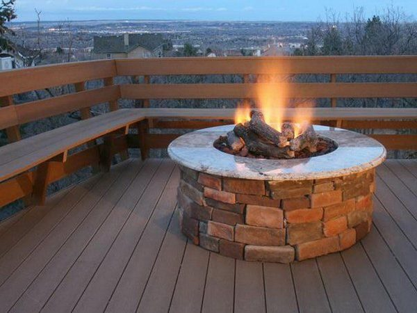 Style 25  Best Ideas About Propane Fire Pits On Diy Medium