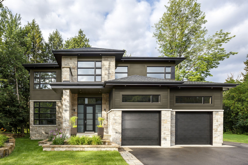 style 3 contemporary homes with big style james hardie siding
