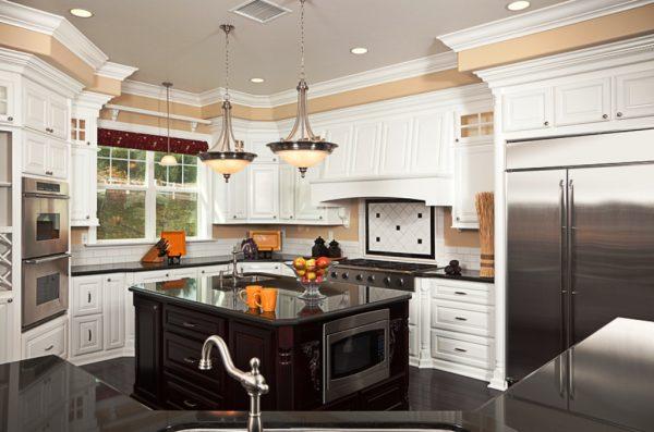 Style 40 Beautiful White Luxury Kitchen Decor Ideas Instaloverz Medium