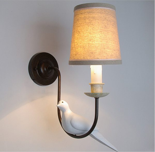 style american country vintage wall lights fixtures led sconces medium