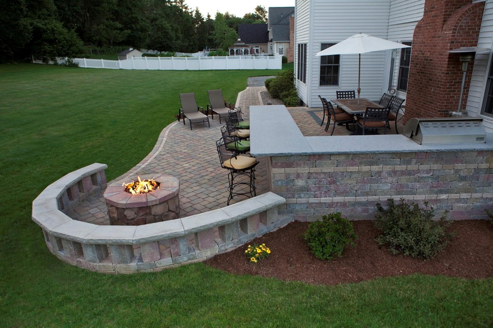 style brick patio ideas for your dream house homestylediarycom
