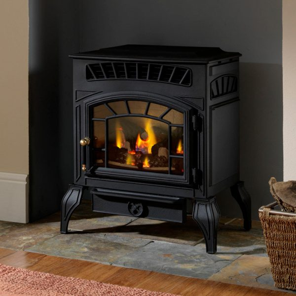 Style Burley Ambience Flueless Gas Stove Stoves Are Us Medium