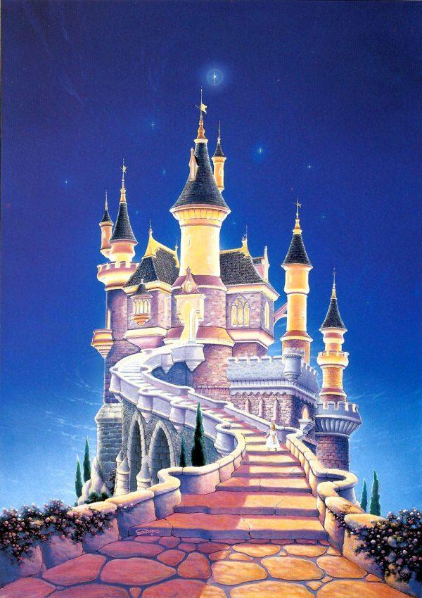 Style Cinderella Castle Camelot Fairy Tale Princess Palace Medium