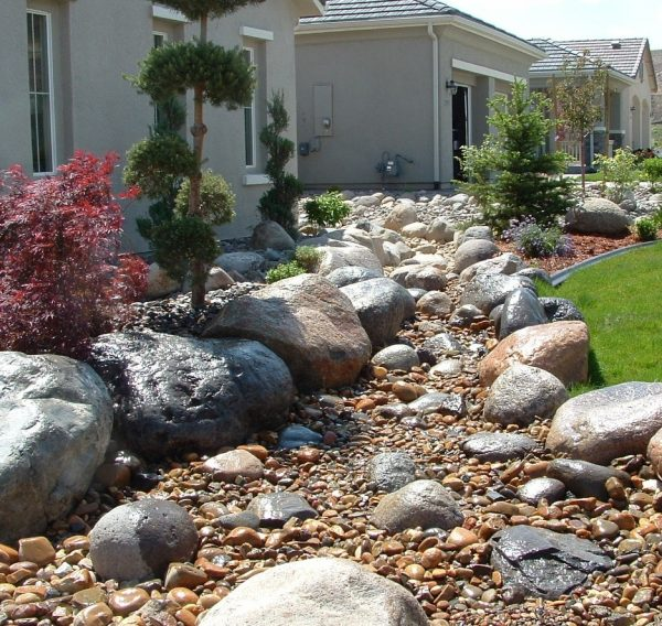 Style Decorative Rocks For Landscaping Ideas  Bistrodre Porch Medium